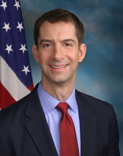 U.S. Sen. Tom Cotton (R-AK)