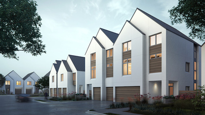 Fifty five Scandinavian inspired 3 and 4 bedroom townhomes now selling and under construction.