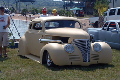 The Meltdown car show used to be held lakeside in New Braunfels in conjunction with a wakeboarding event.