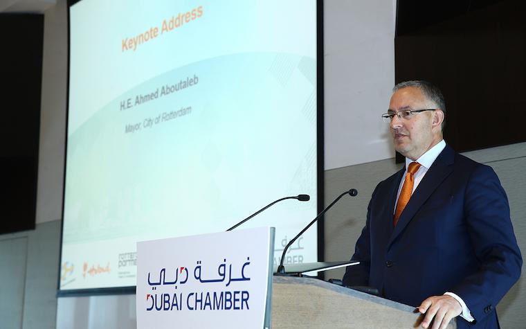 Dubai Chamber signs strategic partnership with Rotterdam