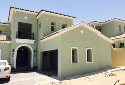 A four bedroom villa is now available in Jumeirah Golf Estates