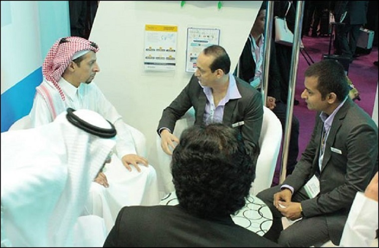 His Highness Faisal S.A. Al Faisal, Prince of Saudi Arabia and Chairman of Alternative Tech Commercial Ltd, visited Global Innovations' stand at the Arabian Travel Market Exhibition (ATM) and met with Mr. Kabir Ali Baig, CEO and Founder of Global Innovati