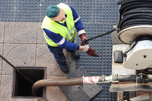 Medium sewerinstallation