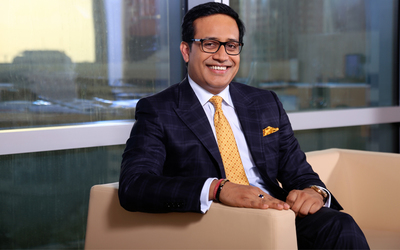 Shailesh Dash, entrepreneur and founder of Al Masah Capital