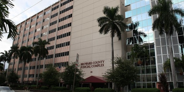 Large broward county judicial complex fort lauderdale