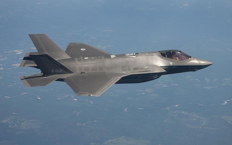 Northrup Grumman, partners in U.K. to service F-35 components