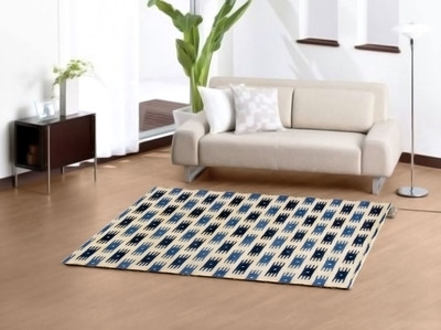 A good rug can help frame the furniture in a room.