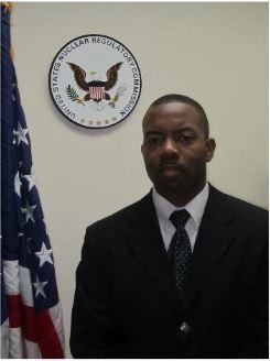NRC Resident Inspector, Fabian Thomas