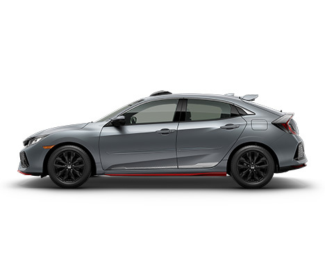 The 2018 Honda Civic is available in five models -- LX, Sport, EX, EX-L, and Sports Touring.