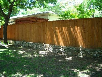 Privacy fences in Austin are typically 6 feet in height.