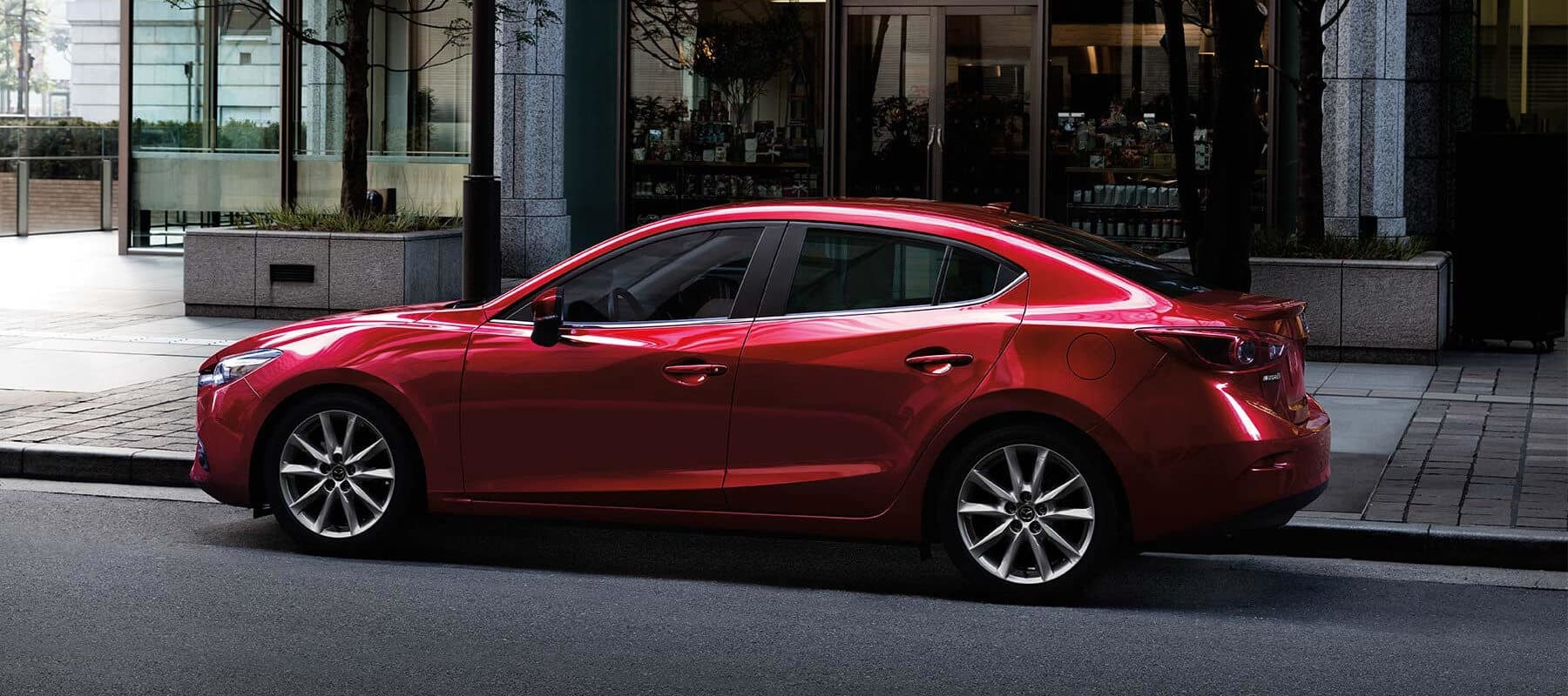 The Kelley Blue Book review notes the Mazda3's great versatility for the price.