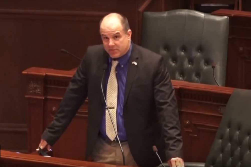 State Rep. Mark Batinick voted no on the state budget.