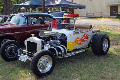 There has been an open car show held in conjunction with the McDade Watermelon Festival for the past 16 years, attracting more than 100 show cars.