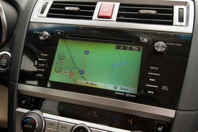 The Subaru Outback includes power lift gate and keyless entry and ignition, along with standard features such as a backup camera and a 6.2-inch touchscreen with smartphone integration.