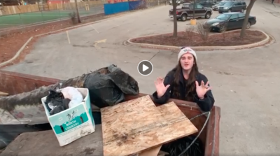 Activist Scott Presler visited Englewood last week to collect trash, raise money for a local youth center and encourage people to vote Republican in 2020.