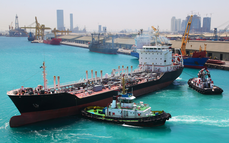 Abu Dhabi Ports has signed a contract with Dolphin Energy.