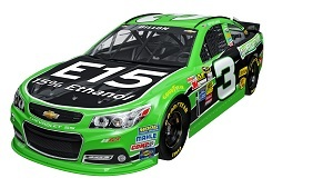 Austin Dillon will be the American Ethanol driver in the No. 3 car.