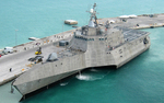 An Independence-variant littoral combat ship