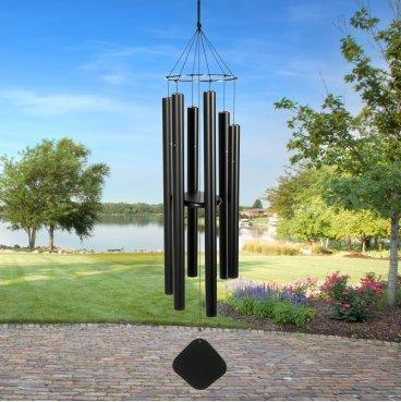 Wind chimes like these are available at Austin's Countryside Nursery.