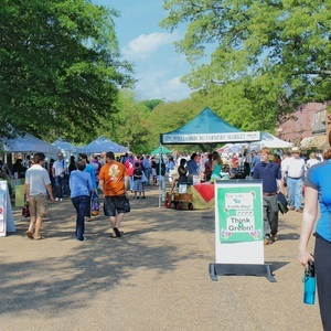 Urbana's Market at the Square is a weekly event that's been running since 1979.