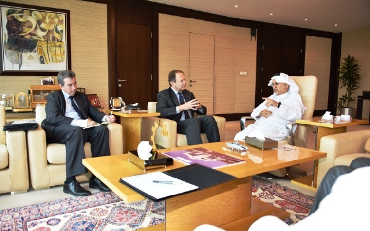 Australia Ambassador to Saudi Arabia Ralph Peter King recently met with Council of Saudi Chambers Chairperson Abdulrahman Al Zamil.