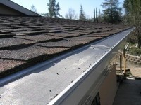 The Gutter Glove keeps leafy debris, squirrels and even mosquitoes out of home gutters.