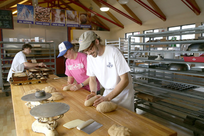 All bread is made fresh on site at Great Harvest.