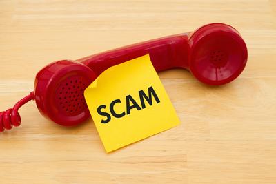 Medium phone scam