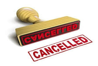 Medium canceled