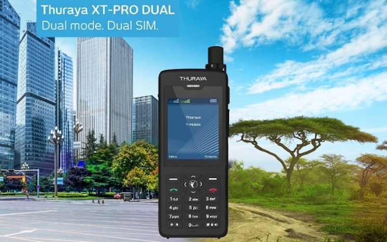 Thuraya Telecommunications announces new progress in satellite phone capability