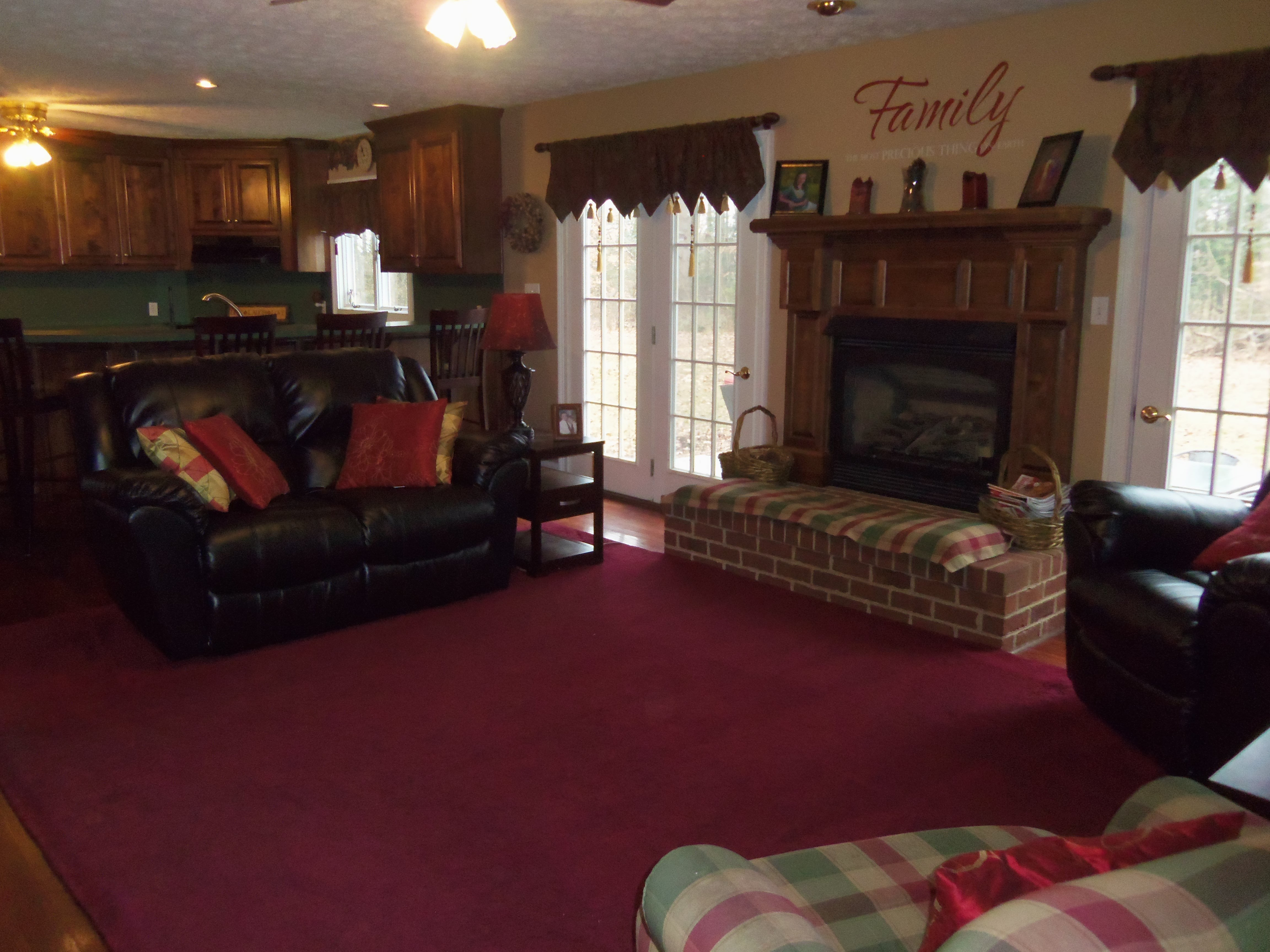 This photo was provided by Abbitt Realty Co., LLC. The house has an open floor plan.