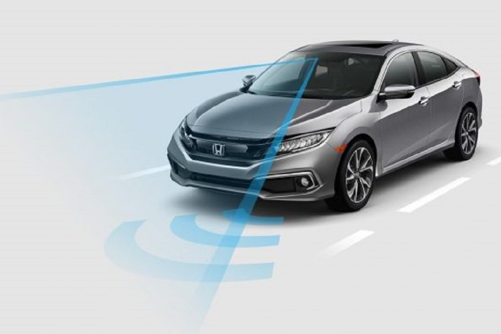 The Honda Sensing suite is a collection of safety and driver-assist technologies.