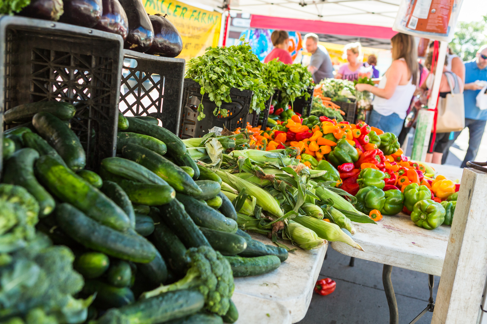 Employees will receive $20 to buy local produce from Spade and Clover Gardens.