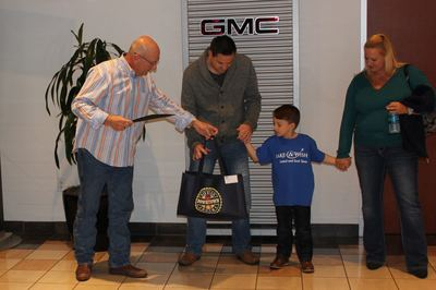 Nyle Maxwell Gmc S Hosts Wish Party For Local Boy Austin Cars
