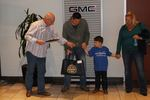 Nyle Maxwell GMC played a big part in making a dream come true for Allen McKee, 5-year old boy who suffers from leukemia.