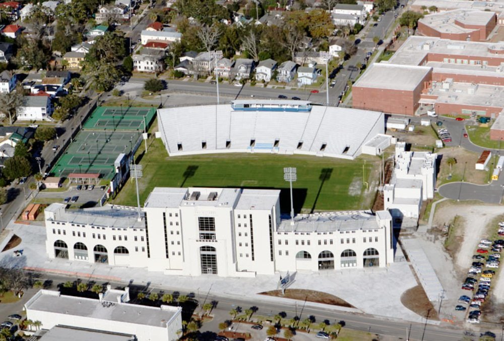 The stadium is named for Brig. Gen. Johnson Hagood, a member of The Citadel Class of 1847.