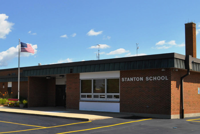 Stanton Middle School is operated by Fox Lake GSD 114 (Spring Grove) which stands to lose the most state funding of any school district in Lake County.