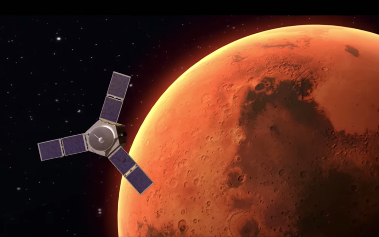 Mitsubishi has received an order for the launch rocket for the Emirates Mars Mission.