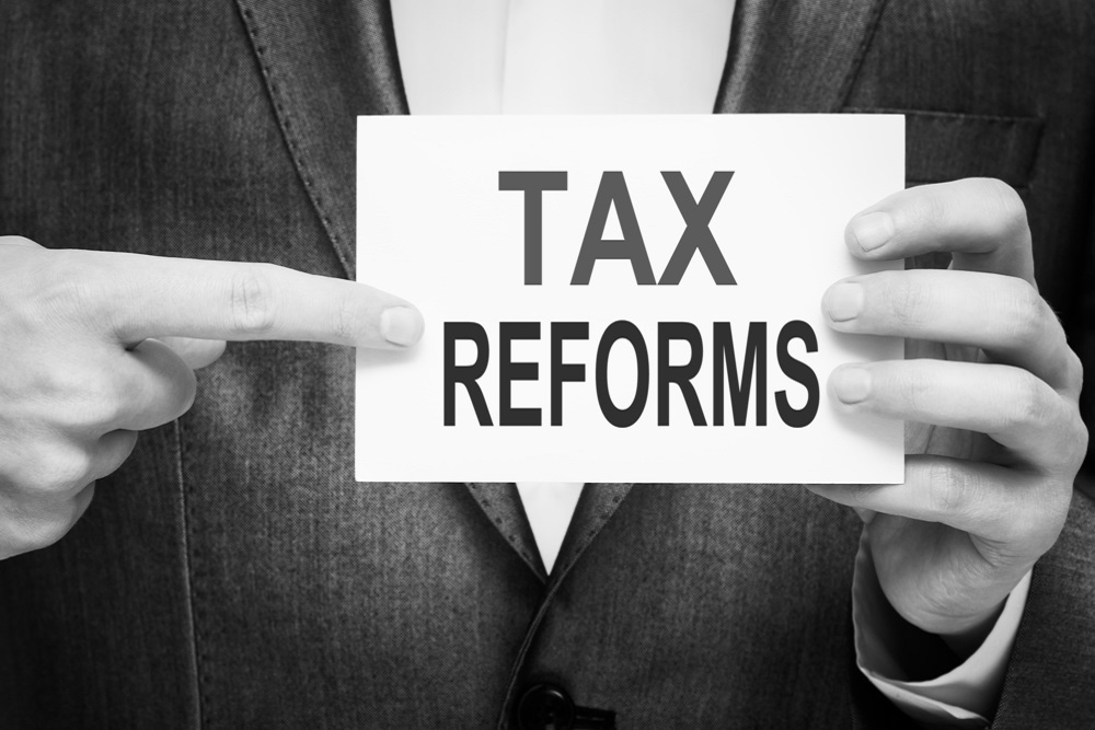 Ted Pitts penned the letter that outlined the tax reform plan.