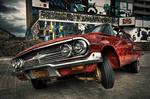 Lowriders are a very colorful and unique niche in the car collector community.