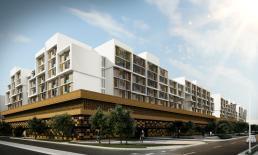 Masdar City has begun construction on a 500-unit residential complex.