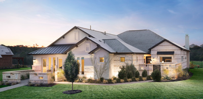 Scott Felder Homes' Abrantes community features many conveniences and luxuries.