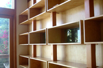 Storage box shelving is an eye-catching improvement for storage.