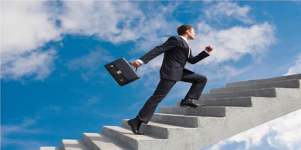 Large success stairs