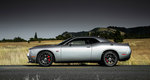 The 2015 Dodge Challenger is modeled after the 1971 Challenger, with a few tweaks for current technology.