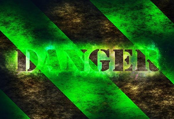 Large danger