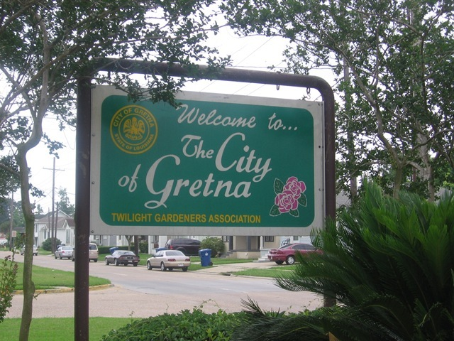 City of gretna sign 1