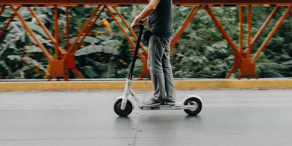 Large scooter
