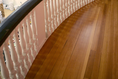 Hardwood floors are elegant, but do require some upkeep.