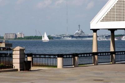 The pier in Charleston.
